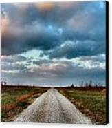 The Road To Somewhere Canvas Print by Julie Dant