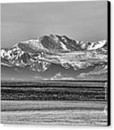 The Rockies Canvas Print by Heather Applegate
