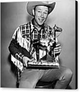 The Roy Rogers Show, Roy Rogers Canvas Print by Everett