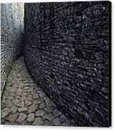 The Ruins Of Great Zimbabwe Were Built Canvas Print by James L. Stanfield