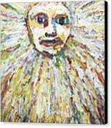 The Sun God Canvas Print by Kazuya Akimoto