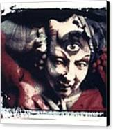 The Third Eye Polaroid Transfer Canvas Print by Jane Linders