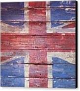 The Union Jack Canvas Print by Anna Villarreal Garbis