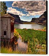 The Water Shed Canvas Print by Tara Turner