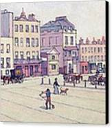 The Weigh House - Cumberland Market Canvas Print by Robert Polhill Bevan