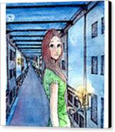 The Winchester Mystery House Canvas Print by Katchakul Kaewkate