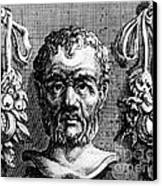 Theophrastus, Ancient Greek Polymath Canvas Print by Photo Researchers
