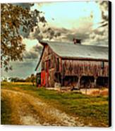 This Old Barn Canvas Print by Bill Tiepelman