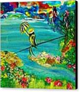 Tight Rope Canvas Print by Kelly Turner