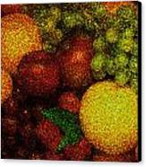 Tiled Fruit  Canvas Print by Mauro Celotti