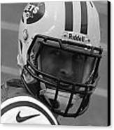 Tim Tebow - Black And White - New York Jets Florida Gators - Timothy Richard Tebow Canvas Print by Lee Dos Santos