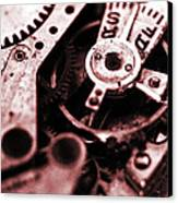 Time Mechanisms Canvas Print by David Cucalon