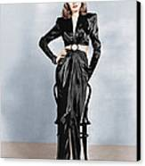 To Have And Have Not, Lauren Bacall Canvas Print by Everett