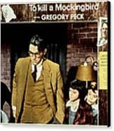 To Kill A Mockingbird, Gregory Peck Canvas Print by Everett