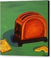 Toaster Canvas Print by Cynthia Thomas