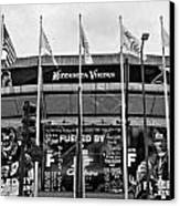 Topless Metrodome  Canvas Print by Susan Stone