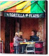 Tortilla Flats Greenwich Village Canvas Print by Susan Savad
