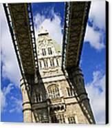 Tower Bridge In London Canvas Print by Elena Elisseeva