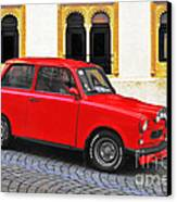 Trabant Ostalgie Canvas Print by Christine Till