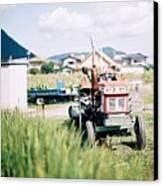 Tractor Canvas Print by Dapple Dapple