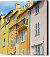 Traditional Houses Canvas Print by John Harper