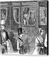 Train Travel: First Class Canvas Print by Granger