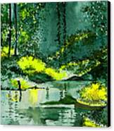 Tranquil 1 Canvas Print by Anil Nene