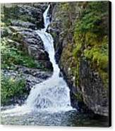 Tricky Falls Canvas Print by Marty Koch