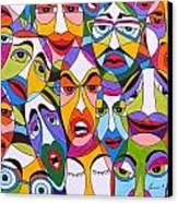 Tristes Canvas Print by Mario Fresco