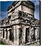 Tulum Ruinas 1 Canvas Print by Skip Hunt