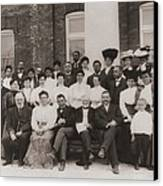 Tuskegee Institute Faculty Canvas Print by Everett