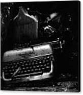 Typewriter Canvas Print by Eric Tadsen