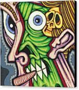 Under The Skin Canvas Print by Jason Hawn