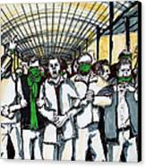 Union Canvas Print by Nina Mirhabibi