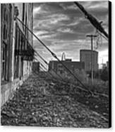 Usa's Most Dangerous City Canvas Print by Jane Linders