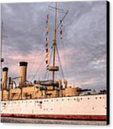 Uss Olympia Canvas Print by JC Findley