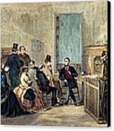 Va: Freedmens Bureau 1867 Canvas Print by Granger