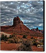Valley Of The Gods II Canvas Print by Robert Bales