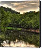 Valley River Canvas Print by Greg and Chrystal Mimbs