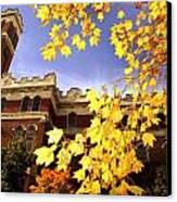 Vanderbilt Kirkland Hall In The Fall Canvas Print by Vanderbilt University