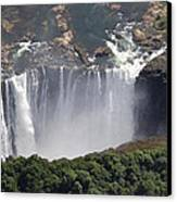 Victoria Falls II Canvas Print by Christian Heeb