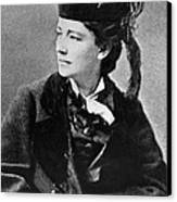 Victoria Woodhull 1838-1927, Early Canvas Print by Everett