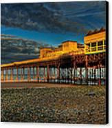 Victorian Pier Canvas Print by Adrian Evans