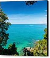View From Khao-lak Canvas Print by Atiketta Sangasaeng