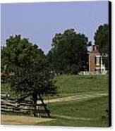 View Of Appomattox Courthouse 1 Canvas Print by Teresa Mucha