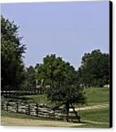 View Of Appomattox Courthouse 2 Canvas Print by Teresa Mucha