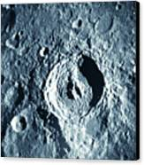 View Of Landscape Of The Moon Canvas Print by Stockbyte