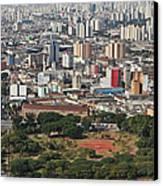 View Of Sao Paulo Skyline Canvas Print by Jacobo Zanella