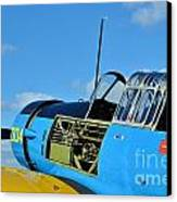 Vultee Bt-13 Valiant  Canvas Print by Lynda Dawson-Youngclaus