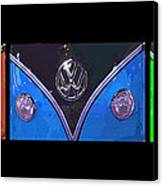 Vw Triptych 2 Canvas Print by Cheryl Young